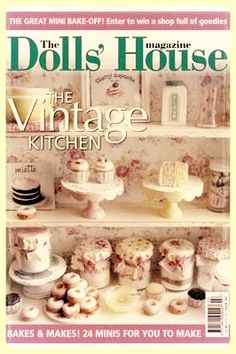 I got the cover! Dollhouse miniatures by Kim Saulter