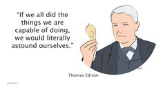 thomas edison - astound ourselves Fails, Family Guy, Inspirational Quotes, Guys, Memes, Fictional Characters, Life Coach Quotes, Inspring Quotes, Make Mistakes