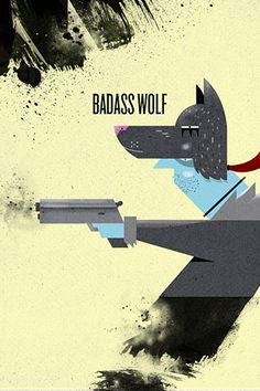 Big Bad Wolf #illustration // pinned by @welkerpatrick