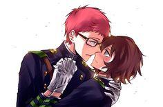 Owari no Seraph: Shiho/Yoichi (2) by Dessa-nya.deviantart.com on @DeviantArt