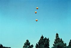 John Baldessari, 'Throwing Three Balls in the Air to Get a Straight Line (Best of Thirty-Six Attempts). 1973.