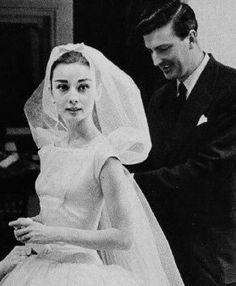 Givenchy Audrey Hepburn Wedding Gown