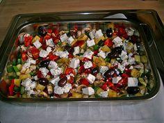 Mediterranes Ofengemüse (Rezept mit Bild) von Stiermädchen   Chefkoch.de