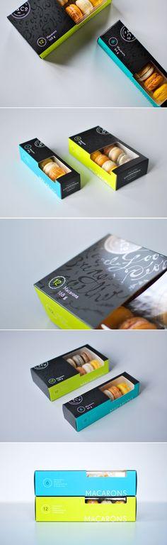 kitchening macaron #food #packaging #design