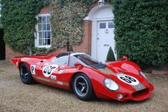 Looking for the Ford of your dreams? There are currently 235 Ford cars as well as thousands of other iconic classic and collectors cars for sale on Classic Driver. Sports Car Racing, Sport Cars, Auto Racing, Road Racing, Motor Sport, Vintage Racing, Vintage Cars, Le Mans, Classic Race Cars