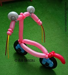 My Daily Balloon: 8th August - Scooter