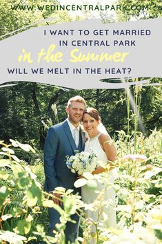 Getting married in Central Park in the Summertime (or anywhere outdoors in the Summer in New York!) - my thoughts, tips and things to remember. Lilac Wedding, Summer Wedding, Diy Wedding, Wedding Events, Wedding Bouquets, Dream Wedding, Wedding Prep, Wedding Ideas, Handmade Wedding