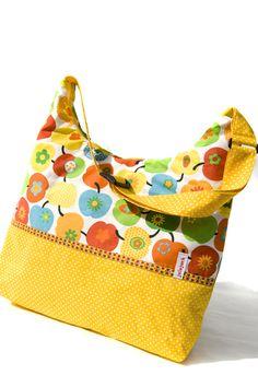 """Schultertaschen - AllesDrin - Tasche """"Apfelernte"""" - ein Designerstück von julejuch bei DaWanda"""