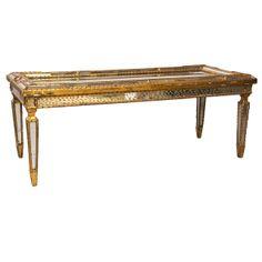 Art Deco Style Mirrored Coffee Table | 1stdibs.com