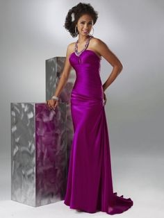 purple prom dress by cheap prom dresses