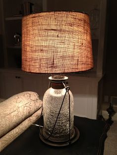 Sensible-Redesign: Pottery Barn Lamp knock off
