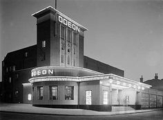 Harlesden Odeon (1937) by Whinney, Son and Hall. Another demolished cinema. This one operated from 1937 to 1972, after which it became a concert hall and then a night club, before being torn down in 1989 and replaced with flats.   Image from English Heritage.