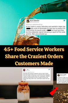 #Food #Service #Workers #Share #Craziest #Orders #Customers #Made