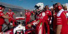 Vettel smentisce le voci di addio: terrorismo mediatico sulla Ferrari? Dopo il tam tam mediatico di ieri che dava Sebastian Vettel in rottura con la Ferrari il tedesco, da Daytona, smentisce la notizia. #f1 #ferrari #vettel #addio #mercedes