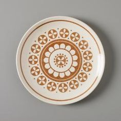 Dinner plate, stoneware, Genuine Ironstone by Crown Lynn Pottery, New Zealand, - Powerhouse Museum Collection Vintage Kitchenware, Plate Design, Museum Collection, Dinner Plates, Dinnerware, Stoneware, Decorative Plates, Collections, Pottery