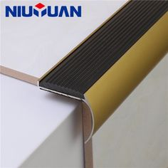 IBD Just Gel Polish – Gilded Dutchess – - Safety. Round Stairs, Tiling Tools, Tile Leveling System, Stair Posts, Ibd Just Gel Polish, Tile Edge, Floor Trim, Tile Trim, Stair Nosing