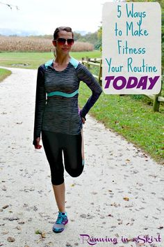 5 Ways to Make Fitness Your Routin pin