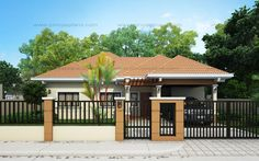 Small House Design Series, SHD-2015015 | Pinoy ePlans - Modern House Designs, Small House Designs and More!