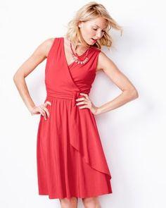 Siren Knit Dress : Hibiscus : Garnet Hill