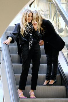 Ashley and Mary-Kate Olsen..