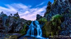 Flatrock Falls Miss You Daddy, The Ca, Newfoundland And Labrador, Long Exposure, Night Time, Twilight, Waterfall, Photography, Outdoor