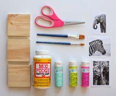 Manulidades infantiles: Haz unos cuadros decorativos hechos por niños