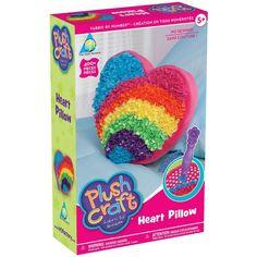 Plush Craft Heart Pillow Kit -
