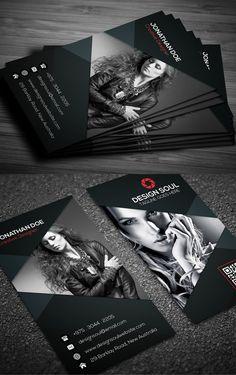 Photography Business Card #businesscards #branding #psdtemplates