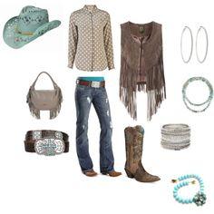 cowgirl posh, created by pjsainick