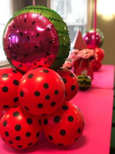 Watermelon Birthday Parties, Princess Birthday, First Birthdays, Christmas Bulbs, Party Ideas, Holiday Decor, One Year Birthday, Christmas Light Bulbs, Ideas Party