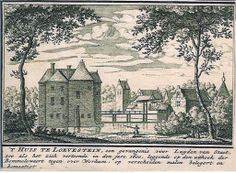 """Dutch Landscape Etching, House Loevestein by Abraham Rademaker, c. 1700. This is a landscape, a wonderful original copperplate etching. It is one of the best that can be found in that period. Great Dutch mid-17th century's landscape art. Beautifully executed.Very good condition. Very nice antique etching! Size is 4"""" x 3"""". - See more at: http://anazao.com/collections/antiques/products/dutch-landscape-etching-house-loevestein-by-abraham-rademaker-c-1700#sthash.6hfNbTfN.dpuf"""
