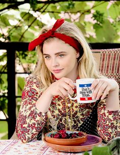 "chloemoretzdaily: ""Chloë Moretz photographed by Bruce Webber for Teen Vogue """
