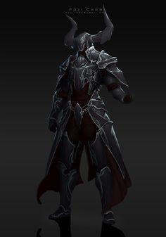 ArtStation - knight-Diablos, Poji Chow