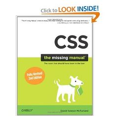 CSS: The Missing Manual: David Sawyer McFarland: 9780596802448: Amazon.com: Books