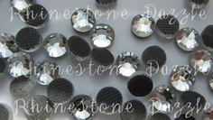 5000pcs Rhinestone Wholesale, ss16 Hotfix Clear Crystal Flatback Rhinestones, 4mm Hotfix Rhinestones, Flatback Rhinestones, bulk rhinestones