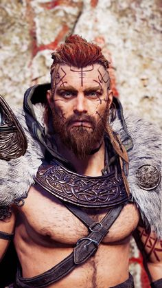 Celtic Hair, All Assassin's Creed, Assassins Creed, Vikings, Medieval, Video Games, Bb, Characters, Magazine