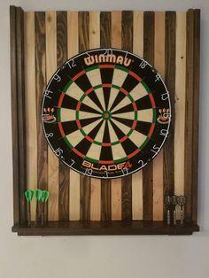 i made a dart board back board on the cheap ttdd