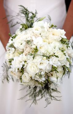 flowers, a rather large bouquet but I like the concept of a mix of flowers