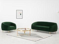Designer Sofas | Sofa kaufen | MADE.com Small Sofa, Large Sofa, Sofa Design, Sofas, 3 Seater Sofa, Home Decor Furniture, Contemporary Style, Designer, Armchair