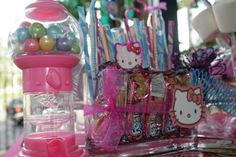 Hello Kitty Candy Buffet | By: POP Candy Buffets | Parque de los Niños, Bayamon | #popcandybuffet | www.facebook.com/popcandybuffets