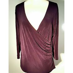 Selling this ☆Host Pick☆ Coldwater Creek wine wrap waist Top in my Poshmark closet! My username is: sassbadger. #shopmycloset #poshmark #fashion #shopping #style #forsale #Coldwater Creek #Tops