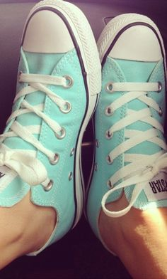 Tiffany blue chuck taylors. christmas list?! by tracie