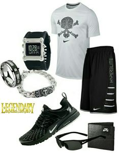 Men's fashion Nike outfit
