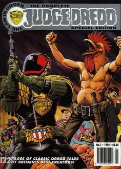 Drokk !!! It's Judge Dredd !!!:   Fantastic art : Brian Bolland