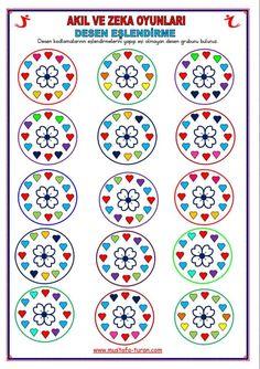akil zeka Kids Education, Decorative Plates, Preschool, Coding, Children, Color, Activities, Funny Math, Hilarious
