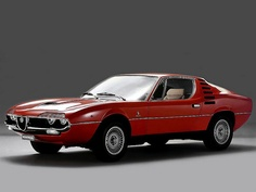 Alfa Romeo Montreal, designed by Marcello Gandini also has several Lamborghini designs include Miura, Countach, Diablo.