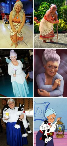 Mom cosplay // cosplay costume ideas // Halloween costume ideas With a knack for cartoon cosplay, Brazilian mother Tia Sol creates and wears one-of-a-kind pop culture costumes inspired by underrepresented characters. Disney Cosplay, Anime Cosplay, Epic Cosplay, Amazing Cosplay, Cosplay Outfits, Cute Costumes, Creative Costumes, Funny Halloween Costumes, Costumes For Women