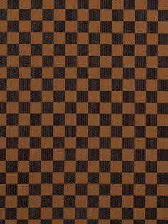 Encore du #tissus #simili #cuir à damier mais noir et marron.