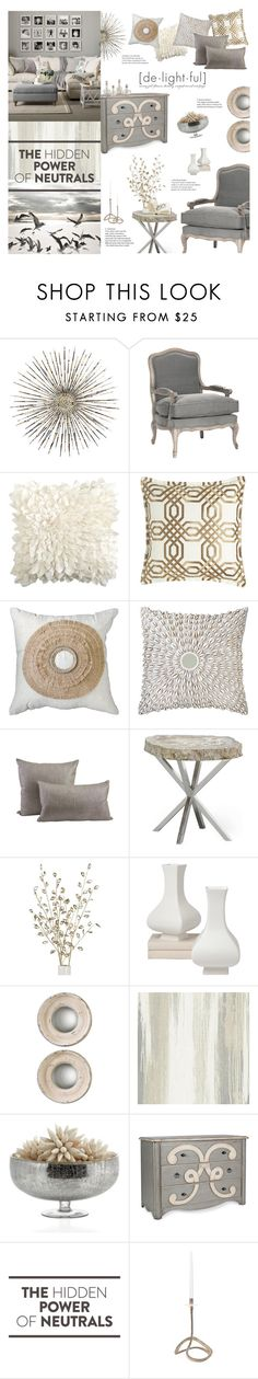 """""""Fade To Grey"""" by happilyjynxed ❤ liked on Polyvore featuring interior, interiors, interior design, home, home decor, interior decorating, Frontgate, Pier 1 Imports, Bandhini Homewear Design and Jayson Home"""