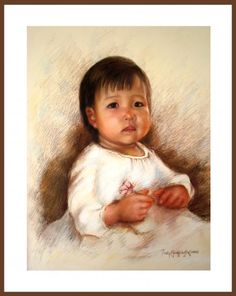 """""""Little Veronica""""  Pastel on Canson Paper  22"""" x 26"""" Art by: PinkyFLizares"""